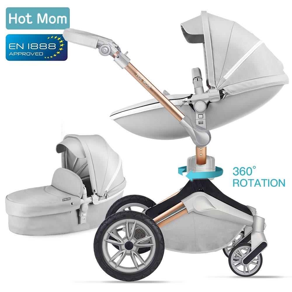 hot mum es un cochecito que tambien se convierte en silla de paseo